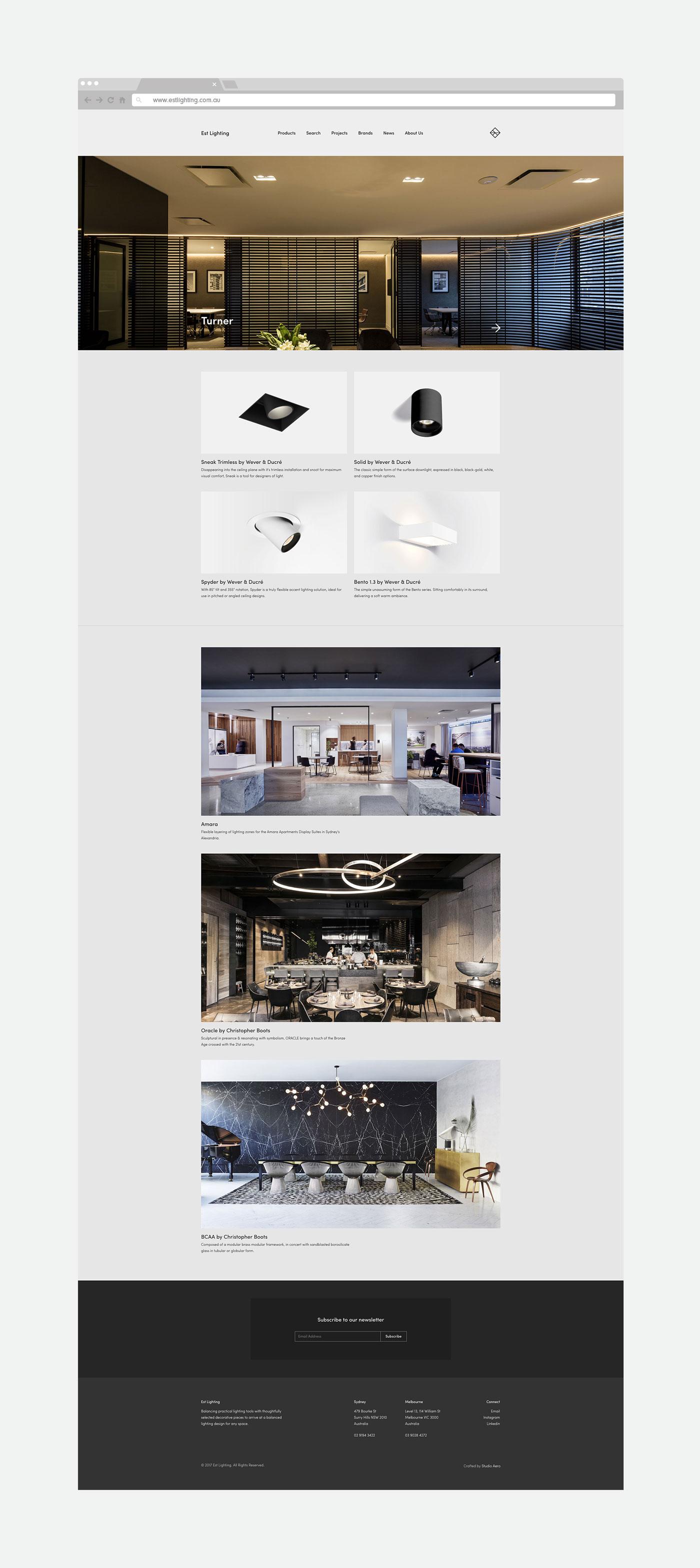 Est Lighting Studio Aero